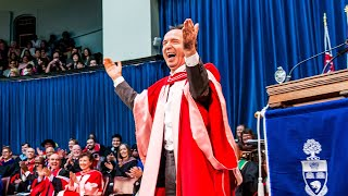 Roberto Benigni, Convocation 2015 Honorary Degree recipient