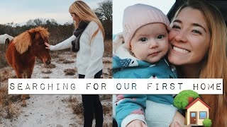 HOUSE HUNTING!!! Moving out at 18 // TEEN MOM VLOGS