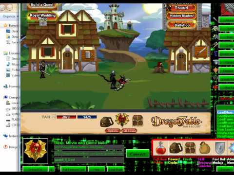 Dragon Fable Trainer Download Link working November 2013