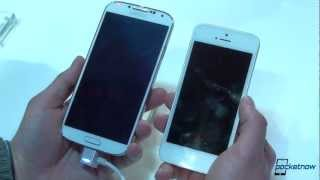 Galaxy S 4 vs iPhone 5 Quick Comparison