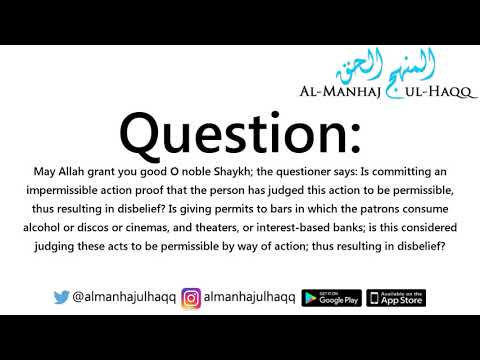 Is the ruler who allows alcohol in his country a kaafir? - By Shaykh Saalih Al-Fawzaan