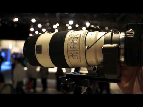 Sony NEX-7 hands on at CES 2012!