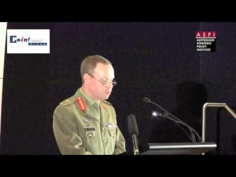 LTGEN David Morrison, Chief of Army - Australian Strategic Policy Institute