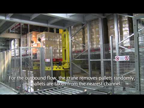 Highest automated deep-freeze warehouse, Agristo BV by Egemin Automation