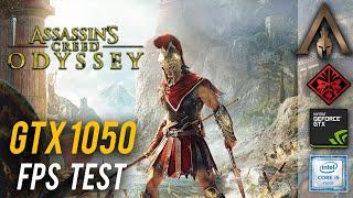 Assassin's Creed Odyssey FPS test   GTX 1050 + i5 7300HQ   HP Omen 15