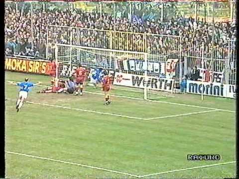 1990/91: Milan-Pisa 1-0, Sampdoria-Roma 2-1, Torino-Inter 1-0