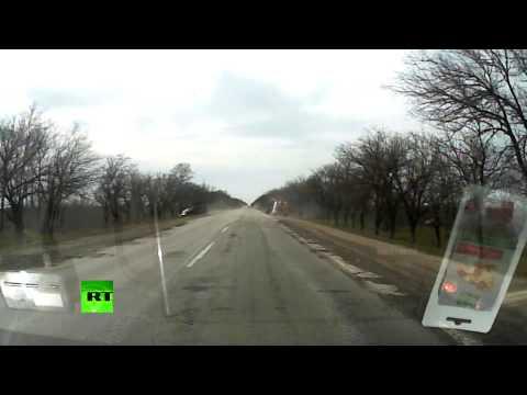 APC loses control crashes into a car killing one in Ukraine
