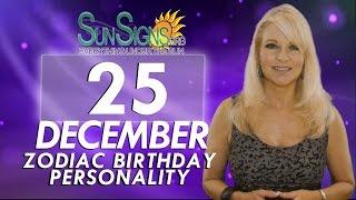 Facts & Trivia - Zodiac Sign Capricorn December 25th Birthday Horoscope