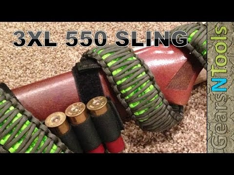 Diy 3xl 550 Triple Cobra Weave Gun Sling Shotgun Rifle