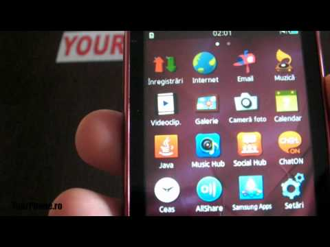 Samsung Wave Y 5380 - Review in Romana
