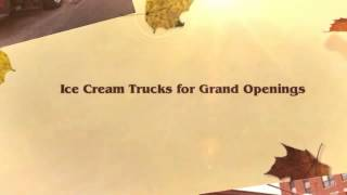 Ice Cream Truck Mobile Billboard for Rent for Marketing Campaigns