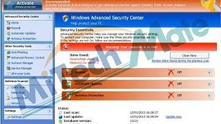 Windows Active HotSpot virus Remove