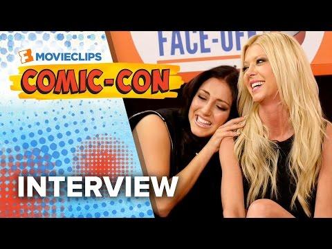 Tara Reid & Cassie Scerbo 'Sharknado 3: Oh Hell No' Exclusive Interview - Comic-Con (2015) HD