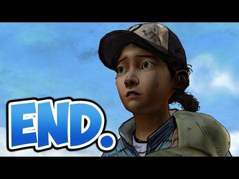The Walking Dead: Season 2: Episode 5 - Part 4 - Ending - Final - Manly Tears. video