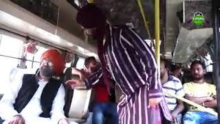Bakna amli in roadways bus. Kalolan