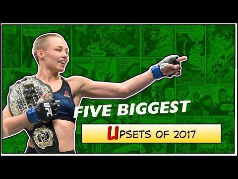 Five Biggest MMA Upsets of 2017