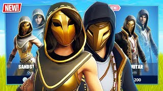 New Sandstorm & Scimitar Skins! // Pro Fortnite Player // 2300 Wins (Fortnite Battle Royale)