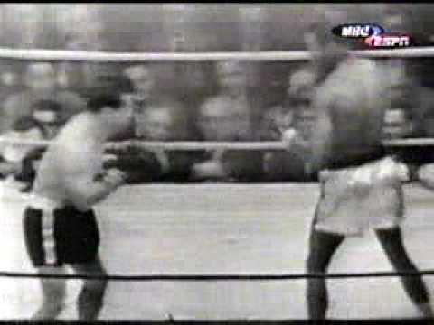 Rocky Graziano vs Sugar Ray Robinson Boxe 16/04/1952 Video