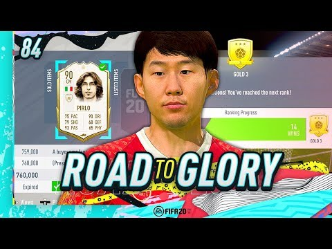 FIFA 20 ROAD TO GLORY #84 - PIRLO PROFIT