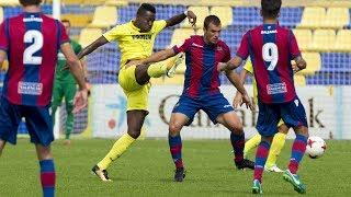 Resumen Villarreal C  1-1 Atlético Levante