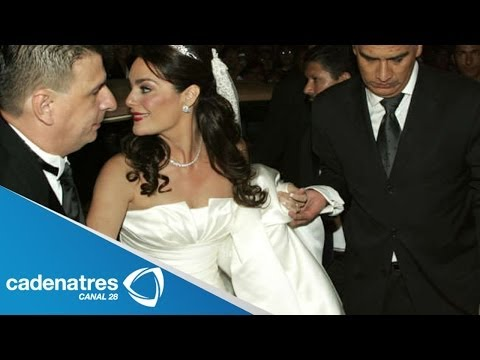 Detalles de la boda de la hija de Pedro Fernández / Pedro Fernandez's wedding of the daughter