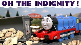 Thomas & Friends Toy Trains Accident Oh The Indignity Gordon - Train Toys Story for Kids TT4U