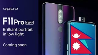 Oppo F11 Pro Price in Nepal, Specifications and Launch Date - 32MP Pop Up Selfie🔥🔥🔥