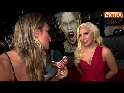 'American Horror Story: Hotel' Premiere: Lady Gaga, Ryan Murphy, Sarah Paulson, and More