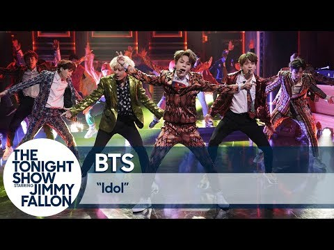 "BTS Performs ""Idol"" on The Tonight Show"