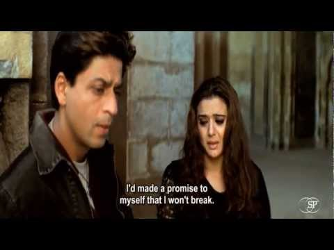 Best romantic moment & dialogues  from VEER-ZARA (Shahrukh Khan...