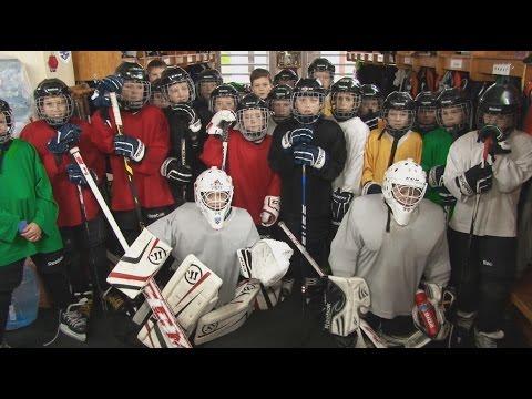 Программа Апельсин. Детский хоккей в Солигорске