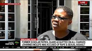 Soweto school guard accused of rape and sexual assault acquitted
