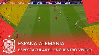 EN DIRECTO!Csar Azpilicueta se apunta al espectacular EspaaAlemania!