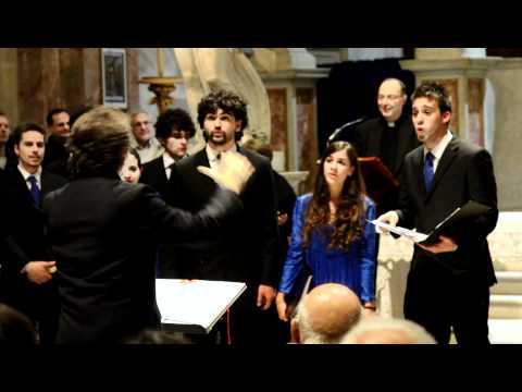 Coro Musicanova in S. Pietro in Montorio, Roma