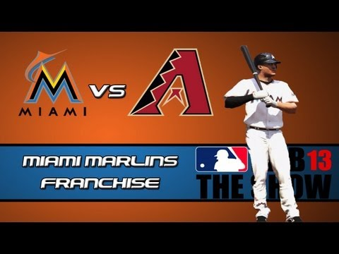 MLB 13 The Show Franchise Mode: Miami Marlins - Offensive Explosion [Y2G66 EP14]