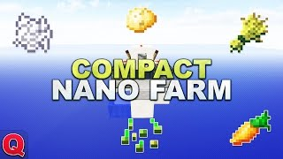 Minecraft - Compact 3x3 Nano Farm V2 - (Quick) Tutorial 1.12