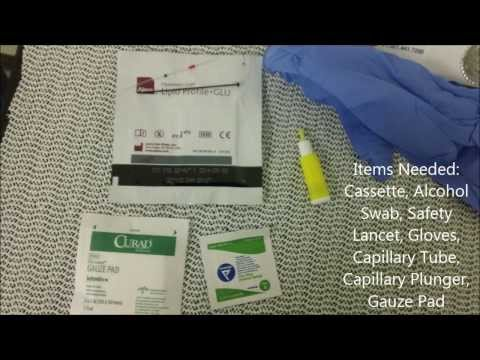 Blood Cholesterol Test (Tarleton State University/CERF Lab)