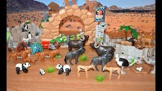 Playmobil Zoo Toy Animals Happy Wildlife Jungle Safari Animal Toys For Kids