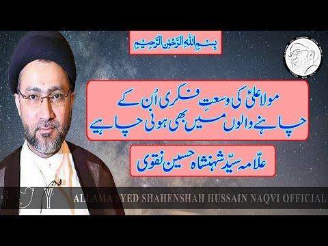 Mola Ali A.S. K Wasaat-e-Fiqri Un K Chahnay Walon Mai B Honi Chahiye