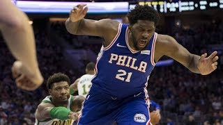 Smart Ejected! 76ers Finally Beat Celtics! Embiid 37 Pts! 2018-19 NBA Season