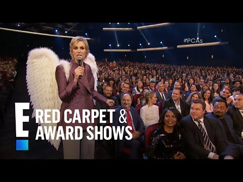 Jane Lynch is an Angel From Hell at People's Choice Awards 2016