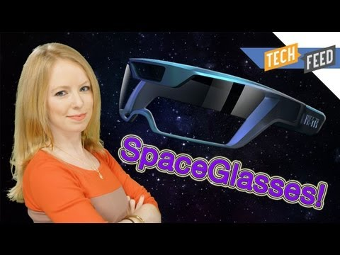Space Glasses Take On Google Glass!