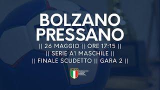 Serie A1M [Finale G2]: Bolzano - Pressano 28-18