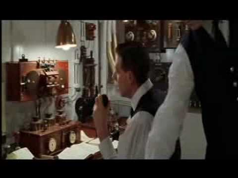 Titanic deleted scene - Wireless room