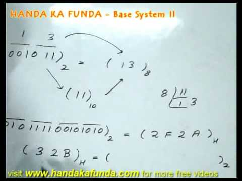 Number System - Base System - 2 of 2