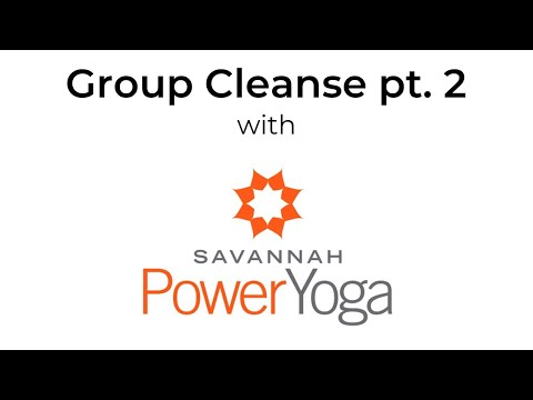 Savannah Power Yoga Group Cleanse