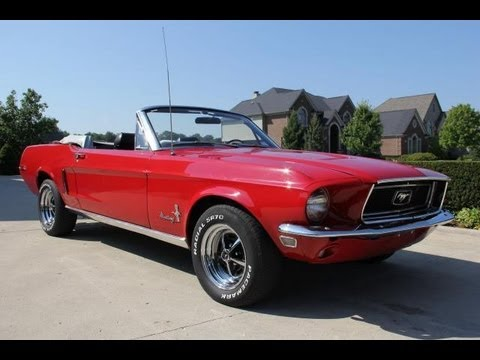 1968 Ford Mustang Convertible Classic Muscle Car For Sale