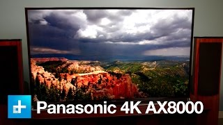 Panasonic AX800 Ultra HD 4K television - First look