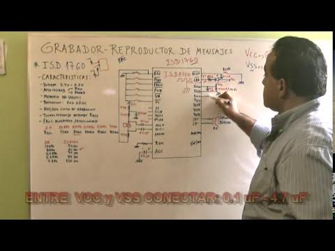 Grabador - Reproductor de Mensajes - Teoria - Circuito - Analisis - Parte1