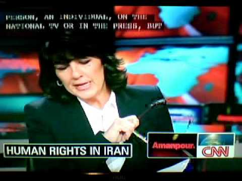 Christiane Amanpour on Iran & protesters executions - Part 2 of 2